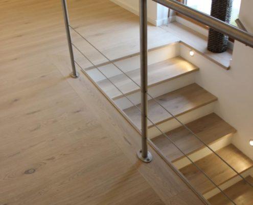 Treppe passend zum Boden