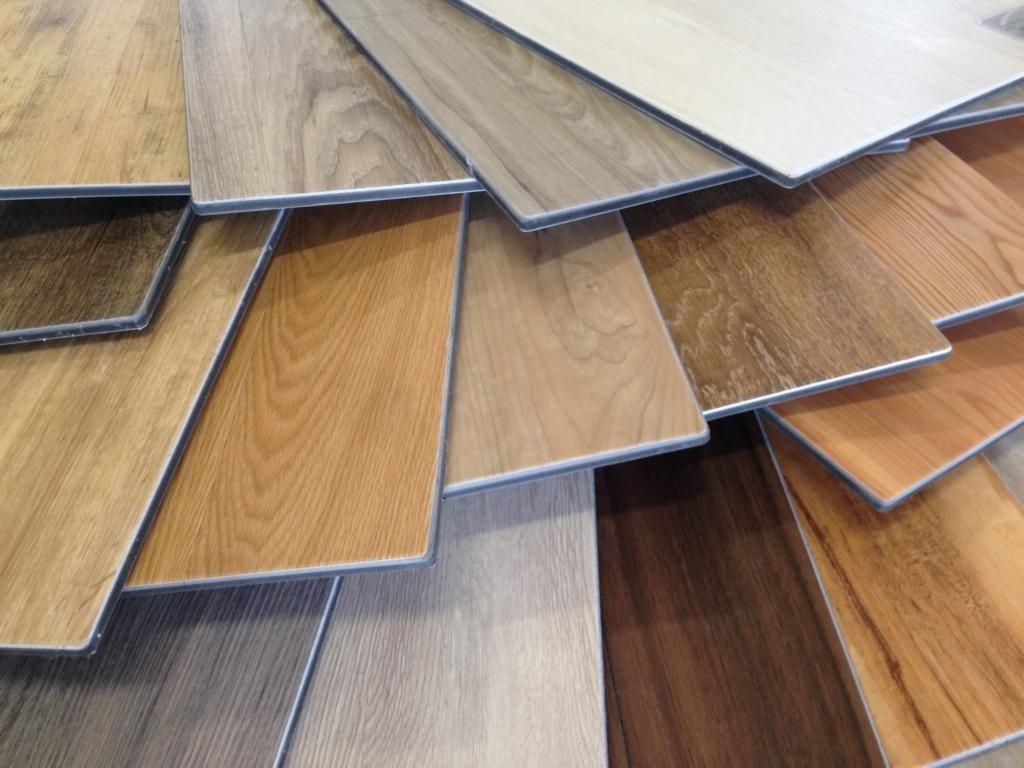 Vinylböden in vielen Designs