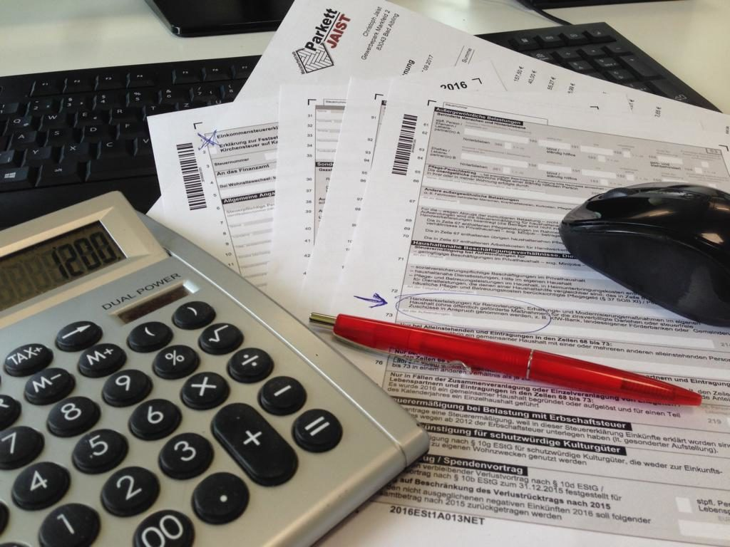 Handwerkerrechnung bei der Steuer angeben