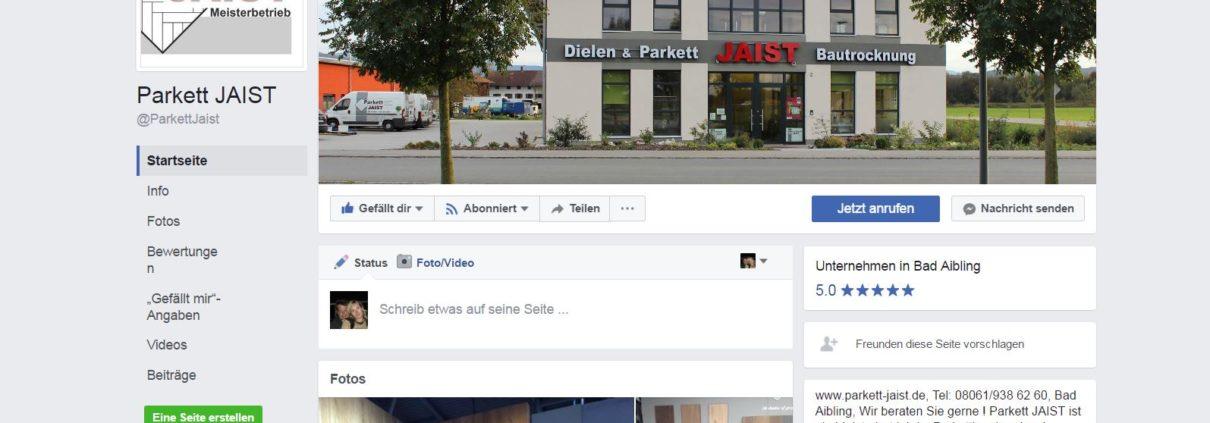 Parkett in Sozialen Netzwerken